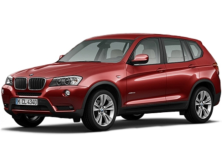 BMW X3 внедорожник 5 дв.