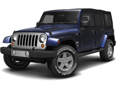 Jeep Wrangler внедорожник 5 дв.